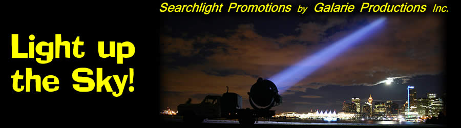 Searchlights Vancouver - searchlight promotions